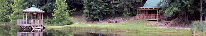 Lakeside Log Cabin